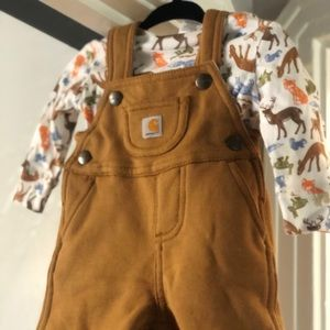 baby Carhartt 3 piece outfit! New w/tags